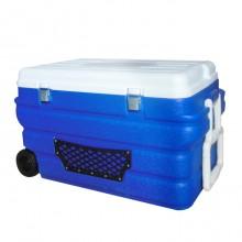 带轮车载冰箱90L
