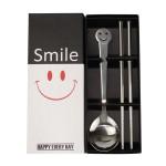 笑脸勺筷两件套