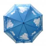 天空广告伞