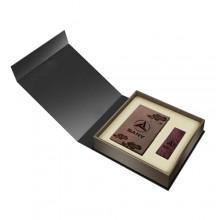 紫檀名片盒U盘二件套装