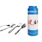 建设银行定制筷勺叉套装 餐具套装创意礼品订做