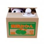 日本超萌偷钱猫存钱罐