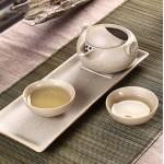 养生瓷茶具套装 功夫茶具定制LOGO