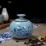 青瓷茶叶罐陶瓷密封罐