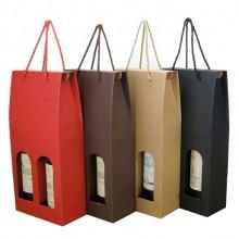 红酒盒纸盒双支红酒 包装盒