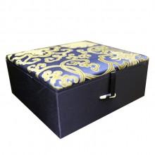 中式锦缎首饰盒