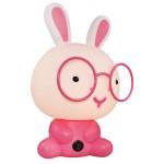 卡通眼镜萌兔台灯 创意小台灯 护眼灯 可定制LOGO