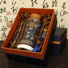 景泰蓝彩—陶瓷杯