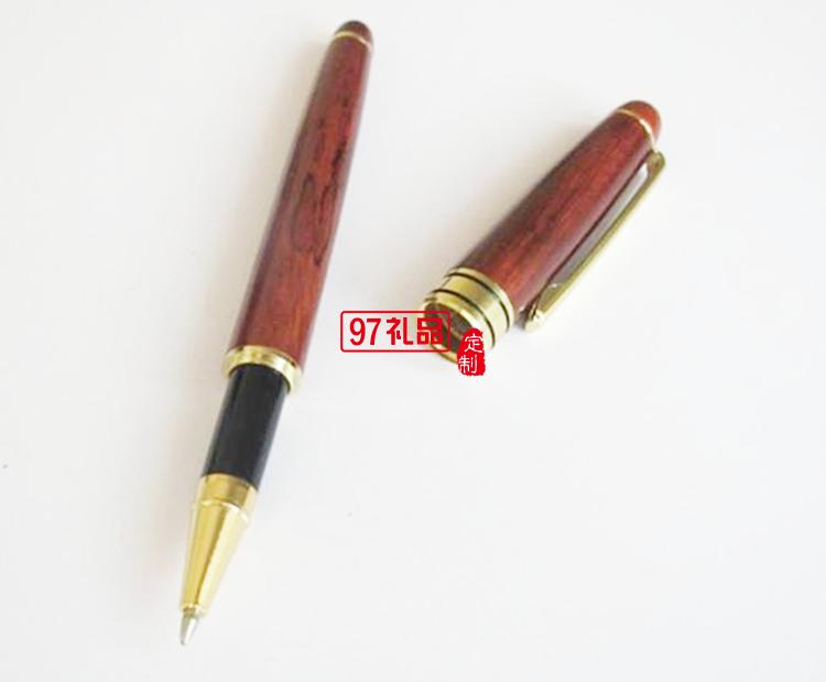 高档红木笔(施华洛世奇镶钻元素)/竹子笔