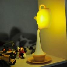 led创意倒茶杯台灯