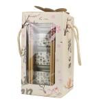 陶瓷竖款4碗筷套装商务活动礼品logo定制结婚回礼公司活动礼品