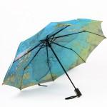 创意地图广告伞