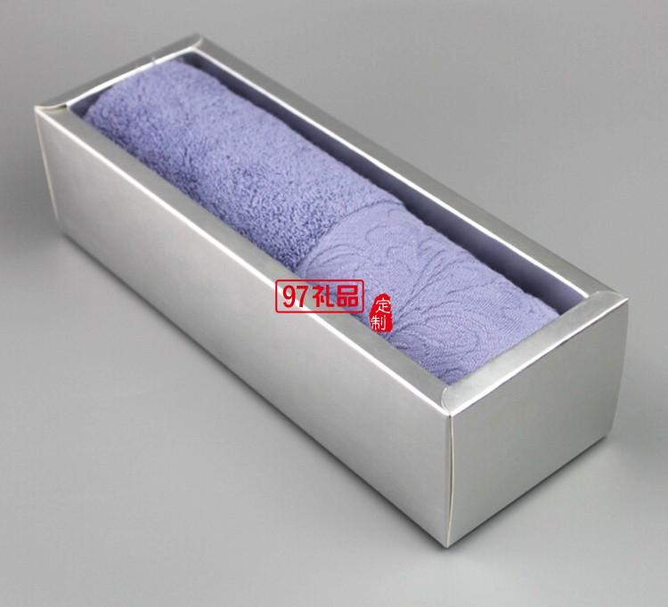 宽锻单条毛巾礼盒
