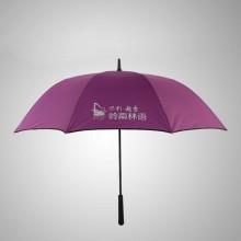 自动商务伞超大高尔夫伞加固双层抗风户外超大雨伞男士长柄双人伞