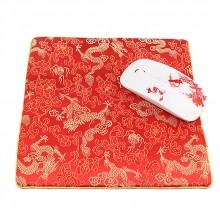 高档丝绸鼠标垫