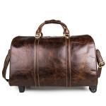 真皮拉杆包行李箱