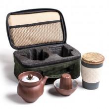 时来运转茶具便携套装  户外旅行便携茶具