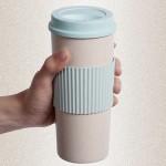 欧式咖啡杯 麦子纤维杯