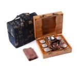紫砂壶茶具套装 户外旅游茶具