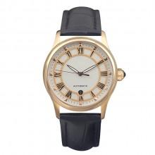 中国银行商务礼品定制 机械男士真皮手表