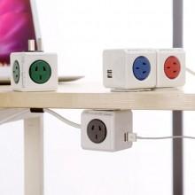 创意骰子多孔插线板插线座