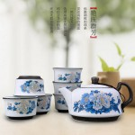 功夫茶具套装  7头艳压群芳陶瓷茶具 可定制LOGO