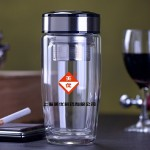 双层隔热杯 创意高档玻璃杯 保温杯