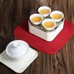 便携式茶具套装一壶四杯旅行茶具