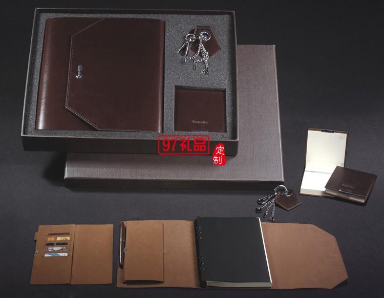 笔记本套装  商务套装记事本 笔  可口可乐定制案例