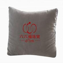 六桂福珠宝订制抱枕被