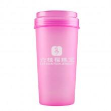 六桂福珠宝 华为通讯定制 广告塑料杯