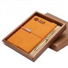 A5记事本子笔礼品套装笔记本文具礼盒会议送礼定制LOGO