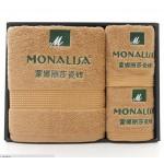 蒙娜丽莎瓷砖定制案例  毛巾套装 商务毛巾 毛巾三件套