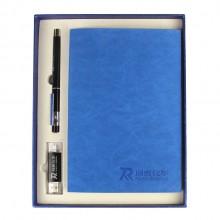 笔记本笔u盘商务套装定制润泰化学有限公司定制案例