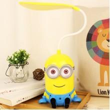 广告台灯定制  小黄人带夜灯充电台灯