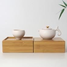 创意茶具套装 一杯一壶旅行套装定制LOGO
