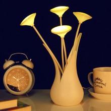 创意USB花瓶灯 小夜灯 氛围灯 可印LOGO