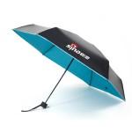 新浪定制迷你超轻晴雨伞 防紫外三折遮阳伞 可定制LOGO