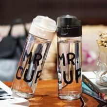 创意塑料水杯 运动水壶 便携学生水杯 随手杯