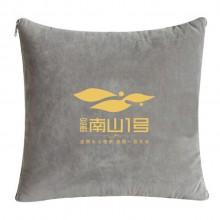 宝马公司定制抱枕被 时尚可折叠便携办公室家居抱枕被 可定制logo