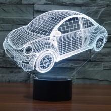 汽车3D灯 LED小夜灯 可定制LOGO定制产品造型