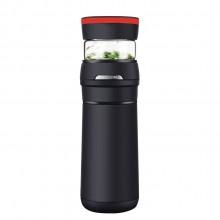 茶水分离保温杯 不锈钢茶杯 创意便携车载水杯
