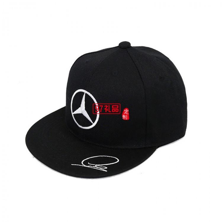 鸭舌帽奔驰大众案例帽子批发定制logo