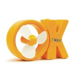 字母OK USB小风扇 新颖迷你风扇 新晨医药定制案例 可印logo