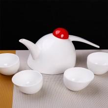 创意骨瓷大小喜鹊茶具整套茶具功夫陶瓷个性茶壶茶杯时尚