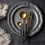 欧式葡萄牙风西餐刀叉勺餐具套装