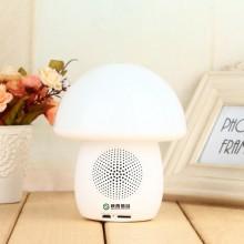 陕西信合定制案例 创意蘑菇灯 时钟  音箱 可定制LOGO