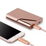 名片夹移动电源 名仕便携式手机充电宝卡包