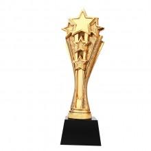 五角星奖杯定制奖杯定做新款电镀金属奖杯活动奖杯