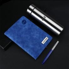 商务礼品套装  办公用品 金属笔+笔记本+保温杯